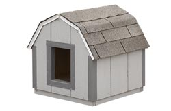 Dog houses available in different sizes