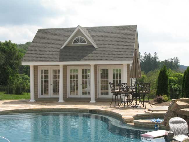Mr shed poolhouses for Pool and pool house